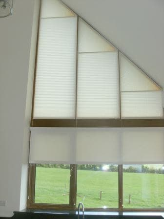 Apex Shaped Blinds Fit in Tipperary