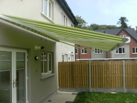 Awning fitted in Dublin 15