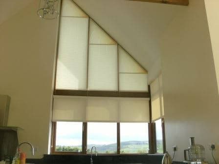We Have To The Shading Solution For Your Gable End Windows