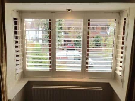 Bay Window Shutter fitted in Ballyboden