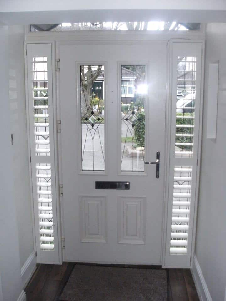 Front Door Shutters Signature Blinds And Shutters