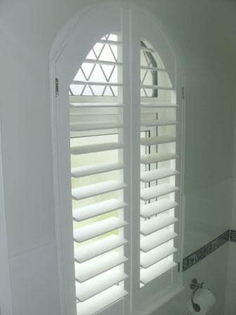 Arched Window Shutters Dublin 15