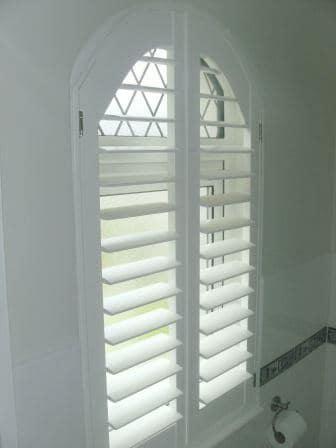 Arched Window Shutters Dublin 15