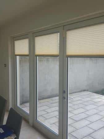 Pleated Blinds fitted in Ballinteer