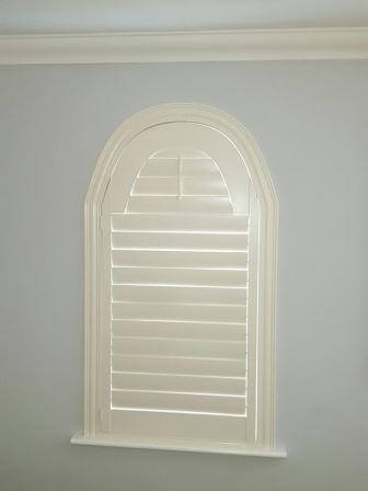 Arched Shutter fitted in Clonsilla