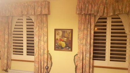 2 shaped shutters kildare