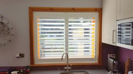Plantation Shutters fitted in Cabinteely