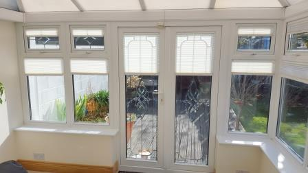 Conservatory Window Blinds fitted in Lucan Dublin
