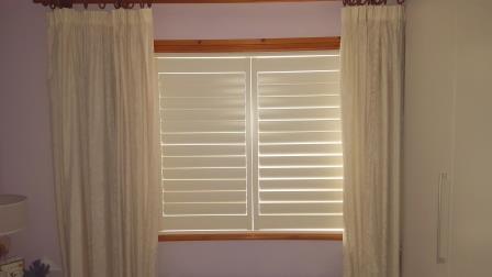 shutters closed in cabinteely