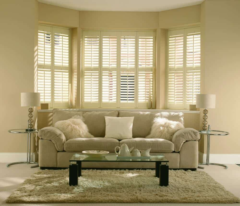 Signature Blinds Bay Window Shutters