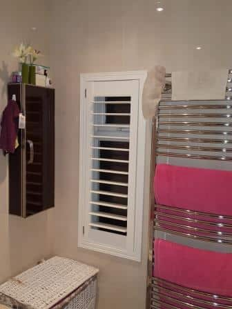 Hidden Tilt Rod Shutters fitted in Cabra Dublin 7