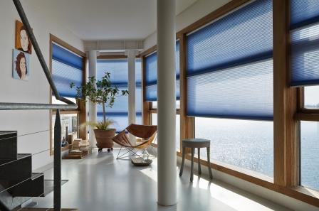 blinds duette and pebble window saving energy conservatory