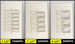 louvres sizes