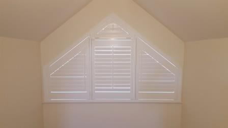 Shaped Plantation Shutters Fit In  Co Kildare