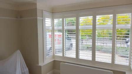 Bay Window Plantation Shutters Milltown
