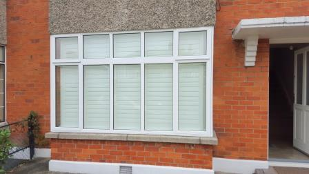 outside view of shutters closed in milltown