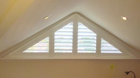 triangular shutters open