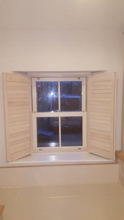 2 panel shutters open co dublin
