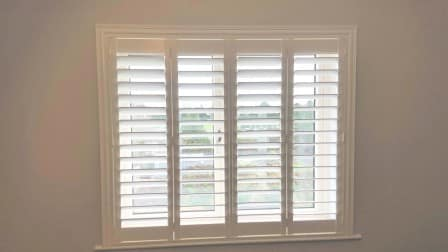 89mm louvred shutters were fitted into a new house in Drumcondra recently.