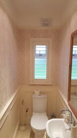 Bathroom Design Kildare shutters fitted in straffan, co kildare.