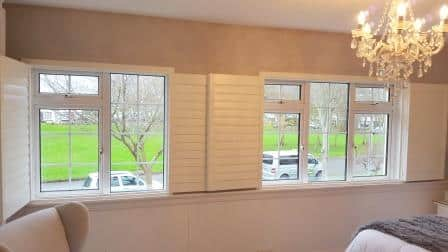 89mm Plantation Shutters in Malahide