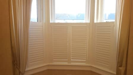 cafe style shutter skerries closed louvres