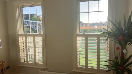Cafe Style Shutters Fitted In Castleknock