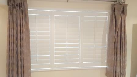 plantation shutters in whitechurch