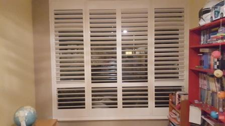 Shutters fitted in Foxrock