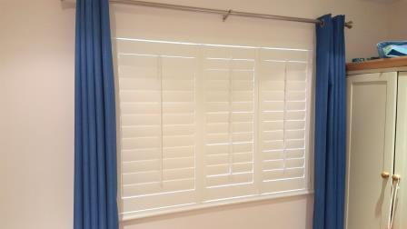 shutters fitted in dublin 16 recently