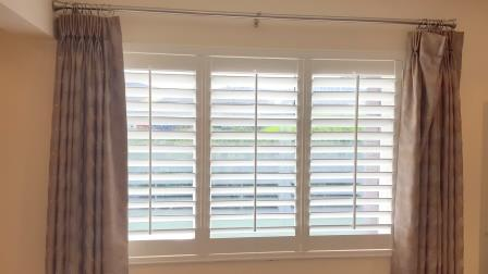 Shutters fitted in Rathfarnham Dublin 16