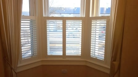 Cafe Style Shutters fitted in Skerries Co Dublin