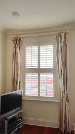 Plantation Shutters fitted in Dublin 4