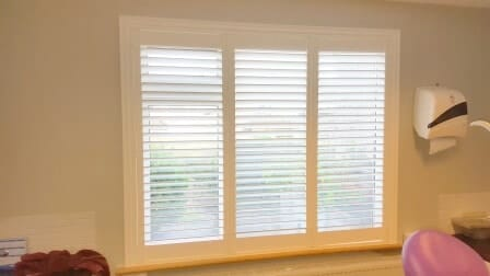 Commercial Plantation Shutters Fitted In Coolock North Dublin