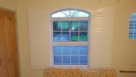 shutters for shaped windows
