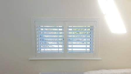 Plantation Shutter Fitted In Balgriffan