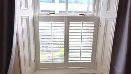 Cafe Style Shutters Fitted in Dublin 2