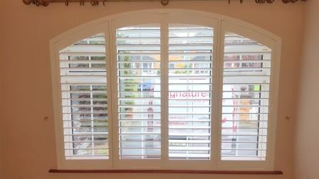 Beautiful Arched Shutter fitted in Whitehall