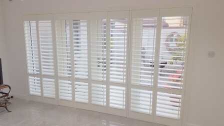 Plantation Shutters fitted recently in Blackhorse Avenue, Dublin 7.