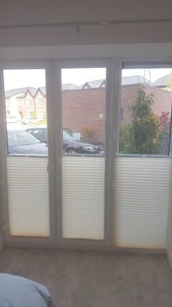Pleated Blinds fitted in Castleknock