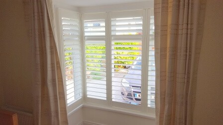 Bay Window Shutters in Dun Laoghaire