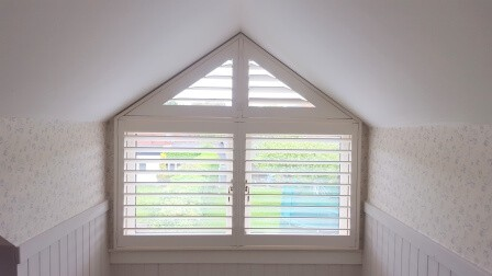 Triangular Shutter fitted in Glasnevin, Dublin 11