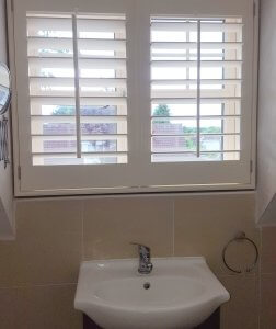 White Interior Shutters fitted in Clondalkin