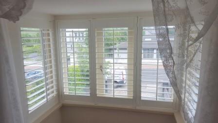 Bay Window Shutters in Bray