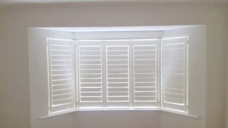 Bay Window Shutters in Dublin 12 Closed