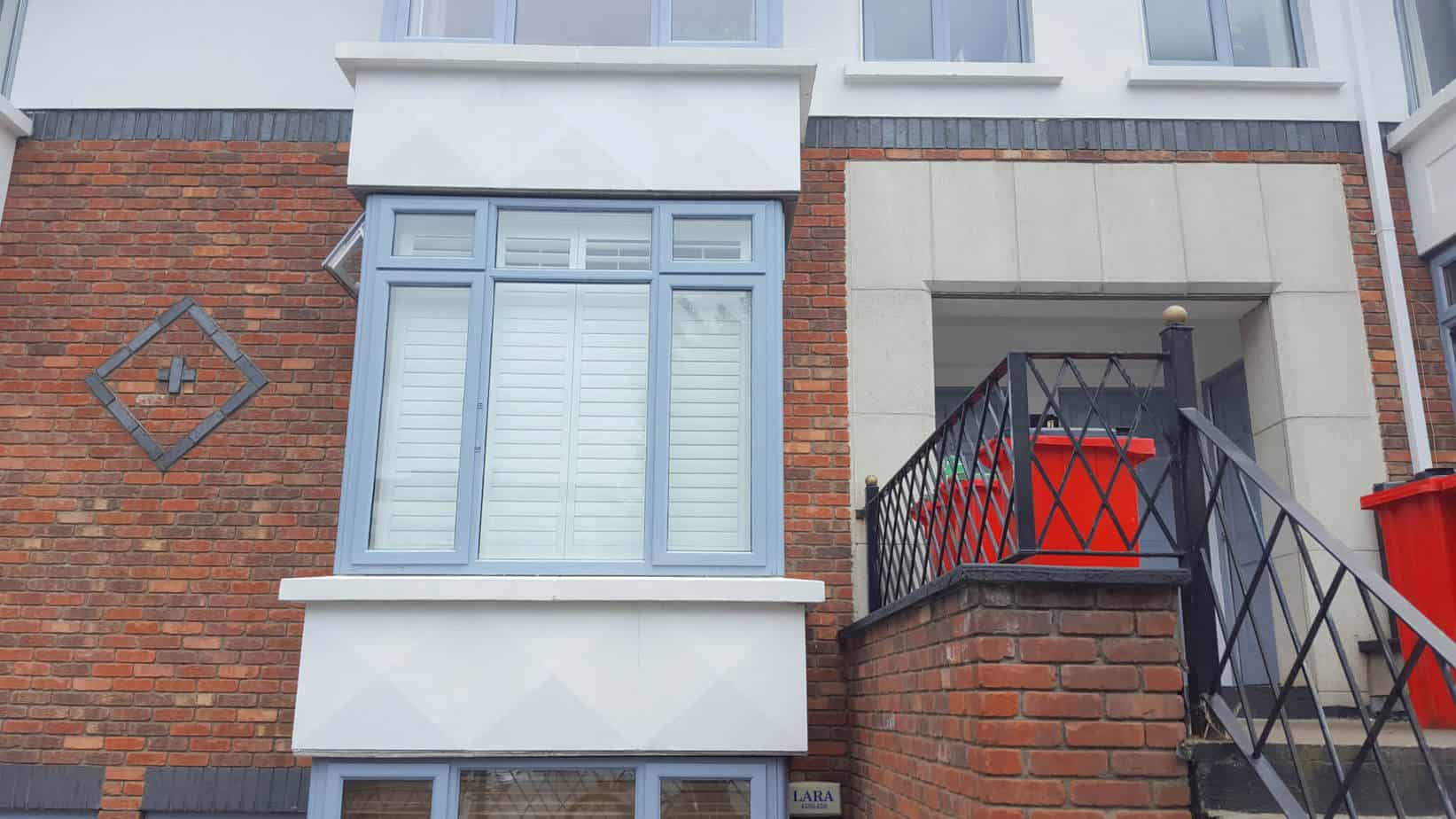 Large Bay Window In Rathmines Was Recently Fitted With Plantation Shutters