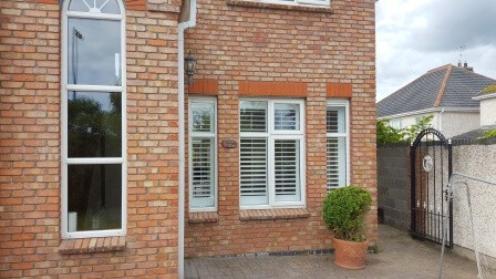 Exterior view of shutters in Louth