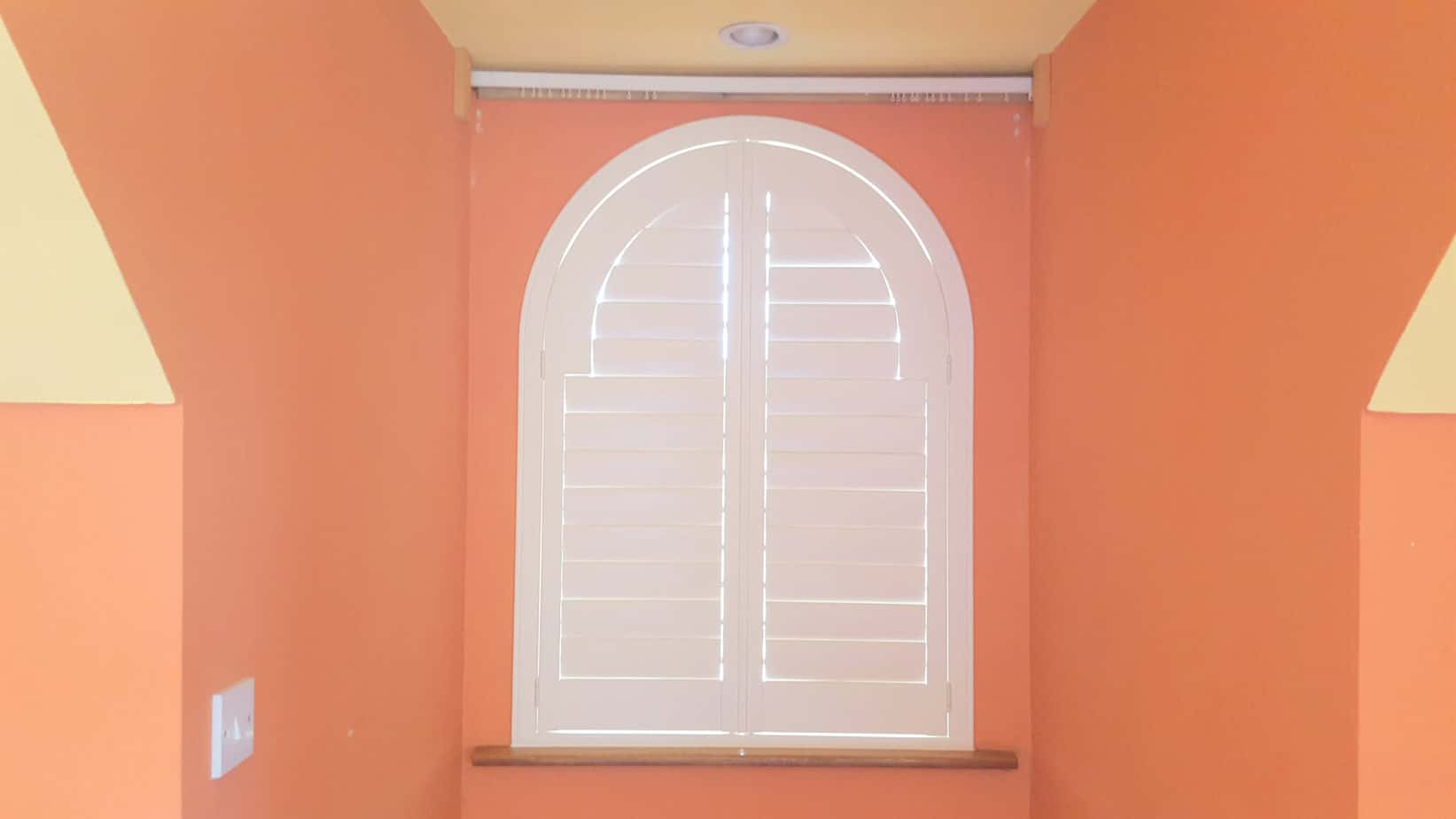 Perfect fit Arched Shutter in Kildare