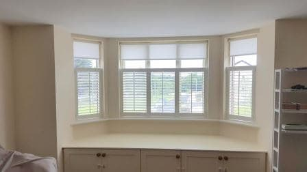 Plantation Shutters fitted in Carrickmines