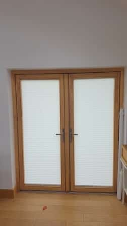 Angled Shaped Blinds Fitted In North Co Dublin
